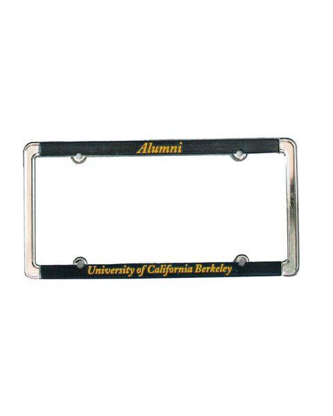 uc berkeley alumni license plate frame