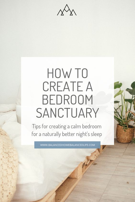 Create a calm and natural bedroom using biophilic design strategies to sleep better at night naturally. Click through to get 8 tips for a natural bedroom design for better sleep.you will also improve the indoor air quality and help lower your stress. Make your bedroom a bedroom sanctuary.#bedroomoasis #bedroomdesign #healthyhome #ecofriendlyliving