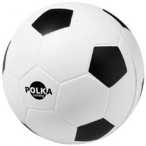 Voetbal stress item Wit,Zwart   10209900  Voetbal stress item. Wees sportief en knijp uw stress weg. Geen half-tones. Decoratie kan breken.Str...