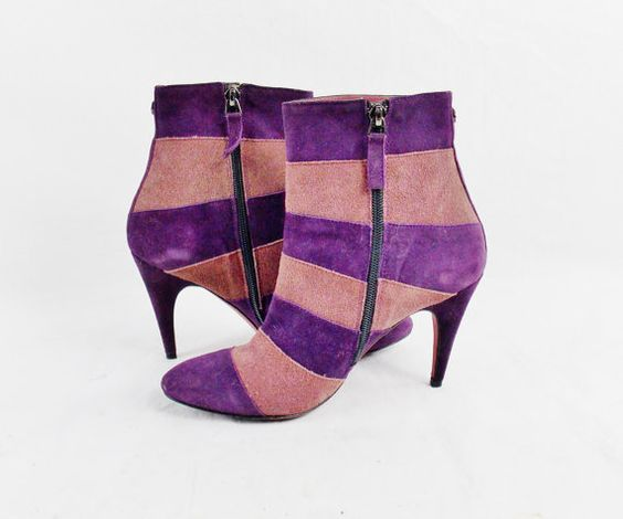 Vintage GIANFRANCO FERRE Ankle BOOTS Booties Funky by Douvintage
