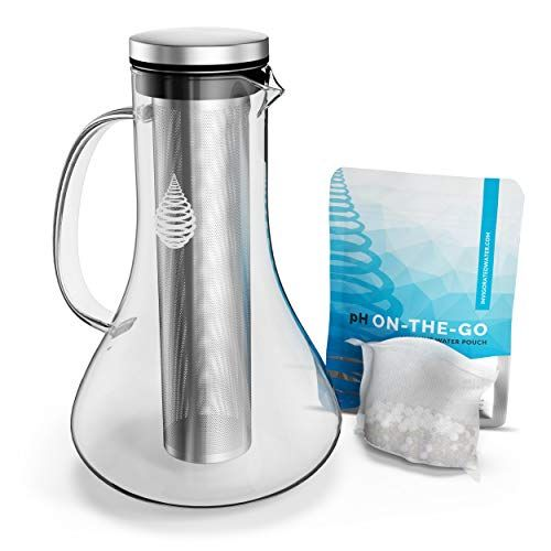 No More Plastic With Our Brand New Ph Replenish Glass Alkaline