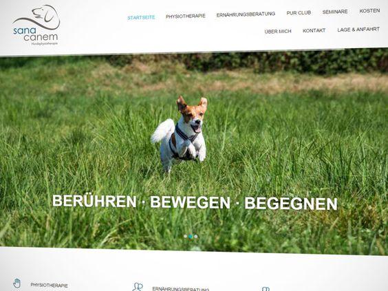 E-SITEcom gestaltete den Internetauftritt für Sana Canem, Praxis für Hundephysiotherapie und Ernährungsberatung in Sinzheim.  Sieht auch auf dem iPhone und iPad gut aus!  Responsive Webdesign by E-SITEcom THE INTERNET SERVICE COMPANY  #SanaCanem #Sinzheim #Hundephysiotherapie #Haustiere #Heimtiere #Therapie