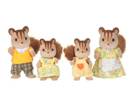 Família dos Esquilos Noz