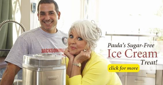 Paula's Sugar-Free Ice Cream Treat!