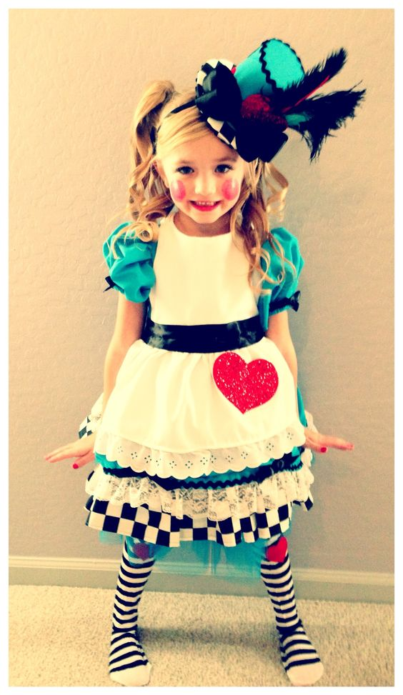 Halloween Alice and Wonderland Lalaloopsy costume: