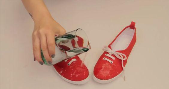 Trik, vďaka ktorému budú vaše topánky nepremokavé