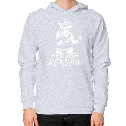 HER ASH KETCHUMG Hoodie (on man)