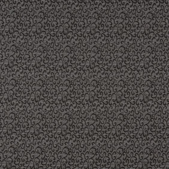 The K6357 ONYX upholstery fabric by KOVI Fabrics features Abstract or Geometric, Small Scale pattern and Black, Grey or Silver as its colors. It is a Damask or Jacquard type of upholstery fabric and it is made of 72% Olefin,28% polyester material. It is rated Exceeds 50,000 Double Rubs (Heavy Duty) which makes this upholstery fabric ideal for residential, commercial and hospitality upholstery projects.For help Call 800-8603105.