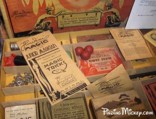 Main Street Magic Shop - Playing Card - Disneyland Hidden Mickeys ...