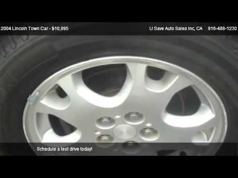 [Collection] Lincoln Town Car Signature sedan 4D @ U save Auto Sales Inc..