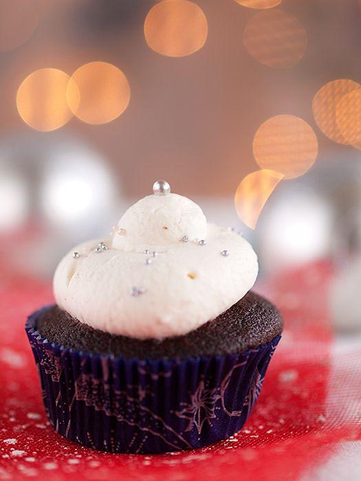 Kakao cupcakes u blagdanskom izdanju » Voće i povrće