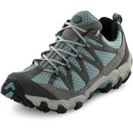oboz luna low hiking shoes   women s camp hike ski run gear