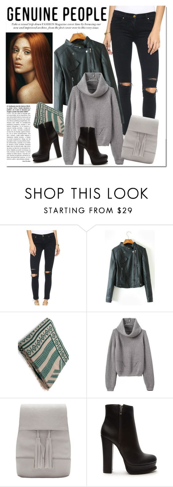 """""""GENUINE PEOPLE (Get ready for cold weather)"""" by marija-colic ❤ liked on Polyvore featuring Forever 21, genuinepeople and Genuine_People"""