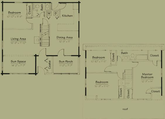 gambrel house floor plans - google search | ideas for the house