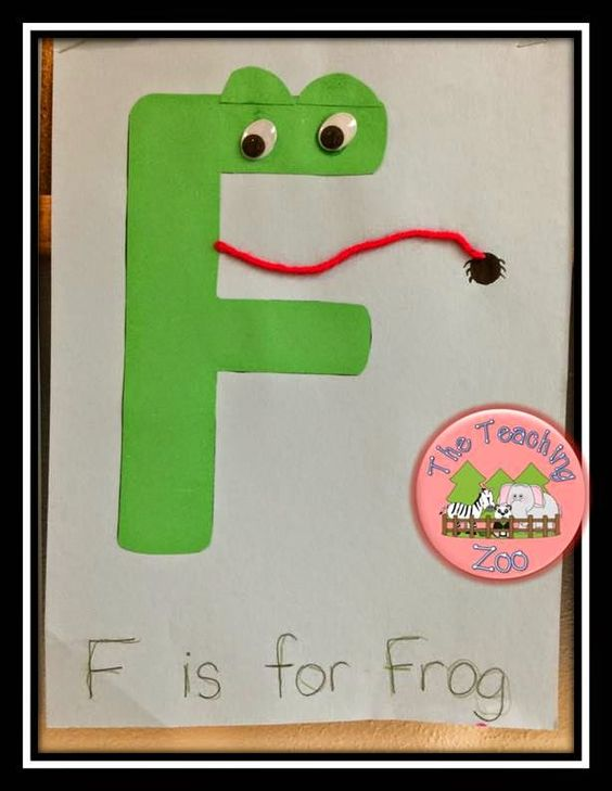 Crafts the o 39 jays and zoos on pinterest for F crafts for toddlers