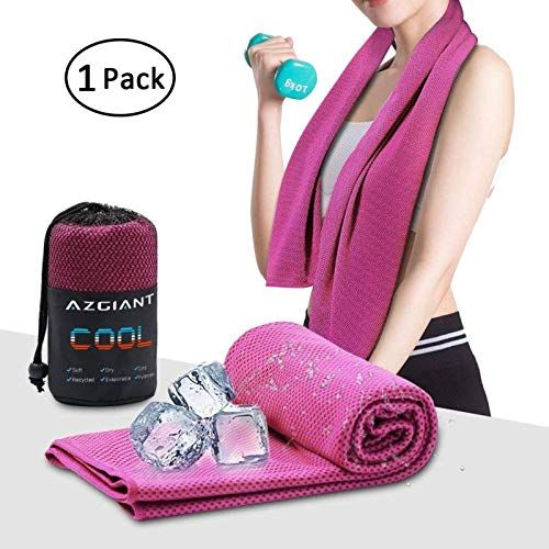 Azgiant Cooling Towel Instant Cooling Towels For Athletes 40 X16 Cool Clothes For Women Chilling Neck Wrap For