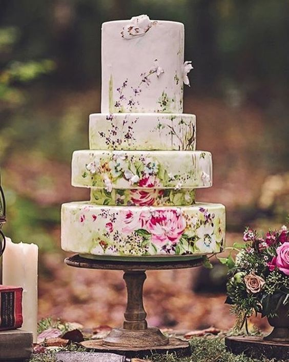 Unique Wedding Cake Designs The Chicest And Most Modern Ideas