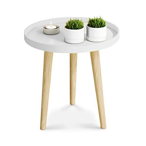 Nordic Small Round Table Household Wooden Small Coffee Table