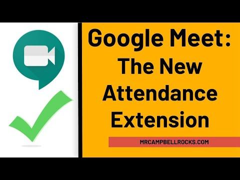 Google Meet The New Attendance Extension Youtube In 2020 Digital Learning Classroom Google Classroom Elementary Online Teaching Resources