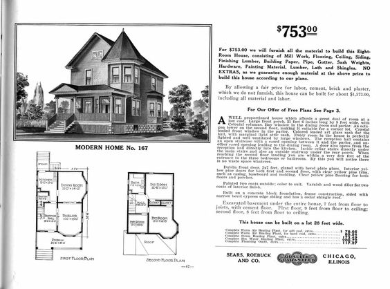 Sears home  The Maytown (Model No. 167); ($645 to $2,038): Vintage Catalogs, Building Plans, Google Search, Sears 1912 0167 Jpg 1471, Homes, Sears Catalog, Kits Sears, 753 Sears, House Plans 1910S