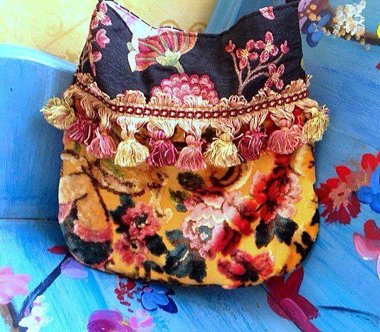 Pretty Fall Boho Bag by Justbepurses on Etsy