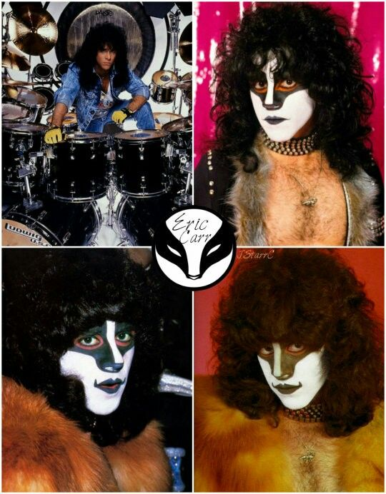 Pin By James Perdue On Eric Carr Eric Carr Hot Band Kiss Band