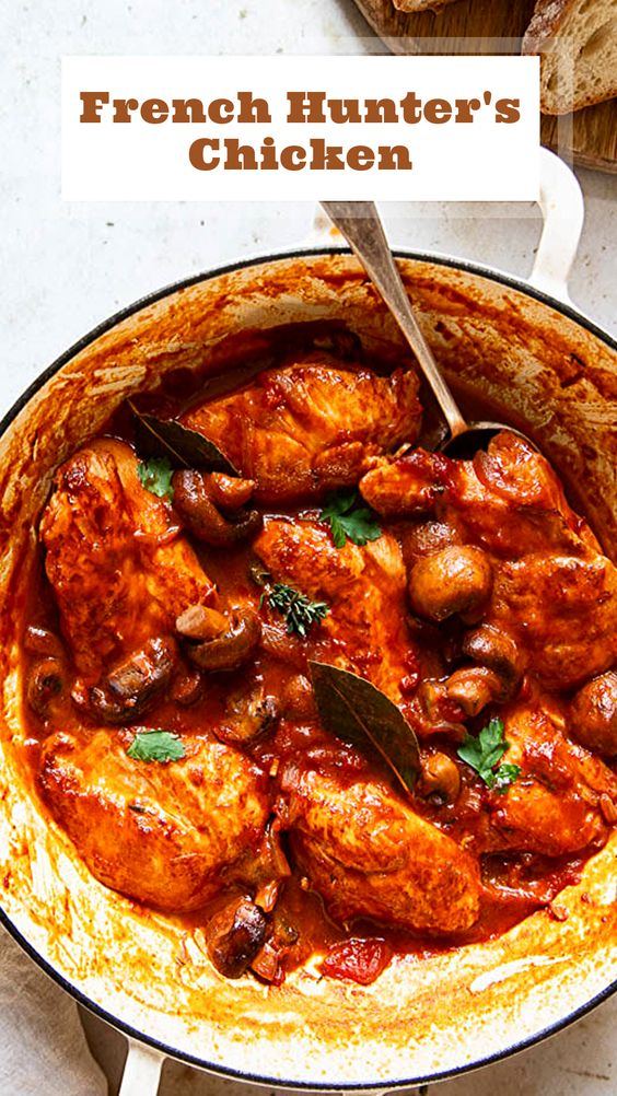 French Chicken Chasseur