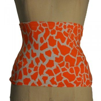 Limited edition giraffe print ostomy wrap! $29.99