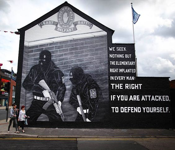UDA murals. Gotta go back to Belfast to see these again...