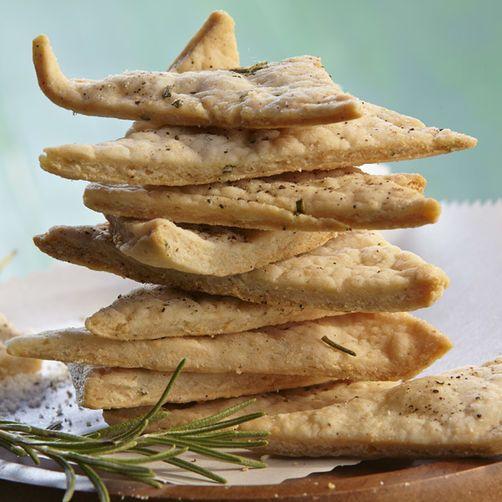 Rosemary & Pepper Crackers