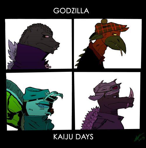 eagcomicsa godzilla style gorillaz demon days album