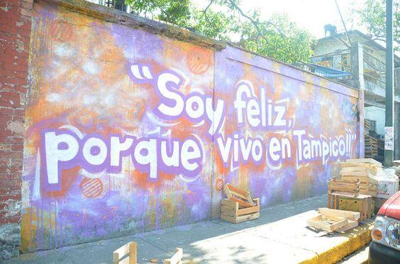 Arte Callejero en Calle Héroes de Nacozari por la zona de los mercados.