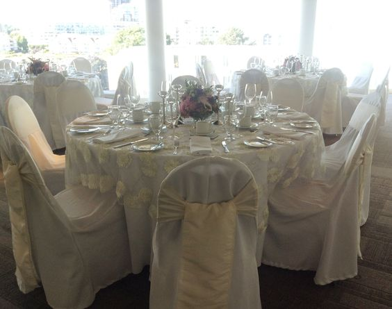 wedding dinner on Inn at Laurel Point's spectacular 5th floor