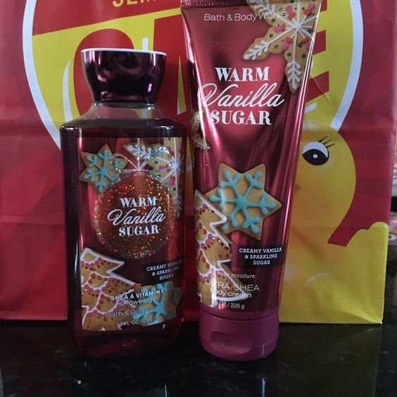 Warm Vanilla Sugar set Brand new set. Includes shower gel and ultra Shea body lotion Bath & Body Works Makeup