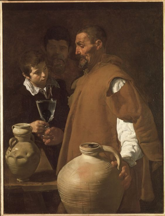 Diego Velázquez, The Water Seller of Seville, 1620.: