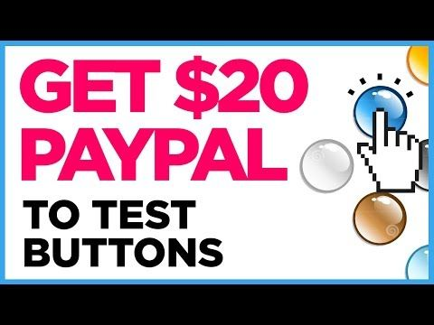 Earn Paypal Money For Testing Buttons Worldwide Youtube Paypal Money Button Paypal Cash