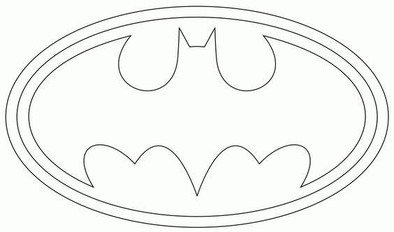 plantilla logo de batman