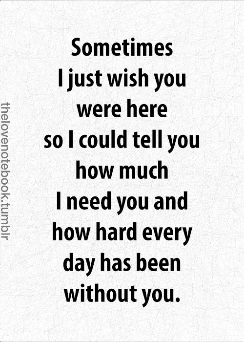 I miss you so much it hurts.......: