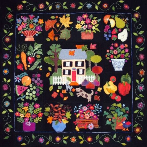 Home Amp Harvest By Erica Kaprow Designs Quilts 1