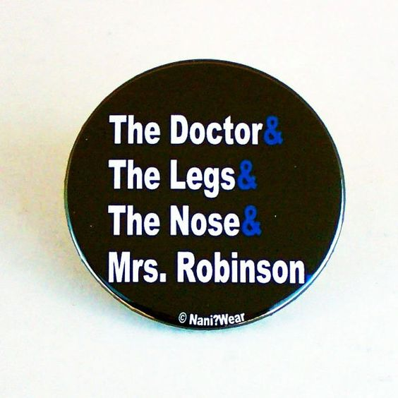 11th Doctor Who 2Inch Button Codename The by DareWearbyNaniWear, $2.50
