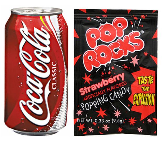 E is for Explore!: Pop Rocks and Soda: An Experiment on Matter