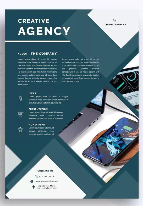 Clapar Professional Business Flyer Template Psd Download