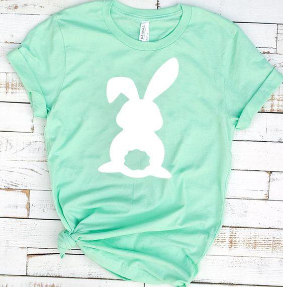 Wifey ASub Mom Easter Shirt Womens Easter Shirt Floral Bunny Easter Bunny Shirt Mom