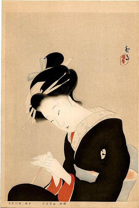 Kikuchi Keigetsu   1922 Japan