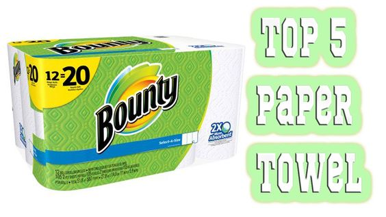 5 Best Paper Towels 2016