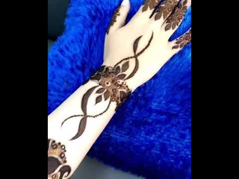 نقش حناء اساور Youtube Henna
