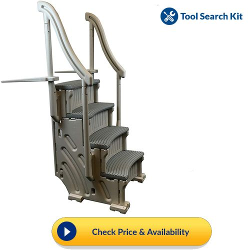 Confer Above Ground Swimming Pool Ladder Swimming Pool Ladders Pool Ladder Above Ground Swimming Pools