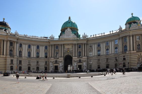 Vienna, Austria. Hofburg Palace (the Imperial Palace)