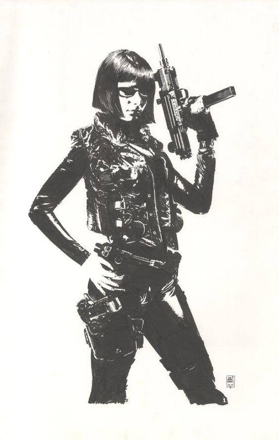 Respingo Página Comic Art :: Venda Obra :: Jennifer sangue pelo artista Tim Bradstreet