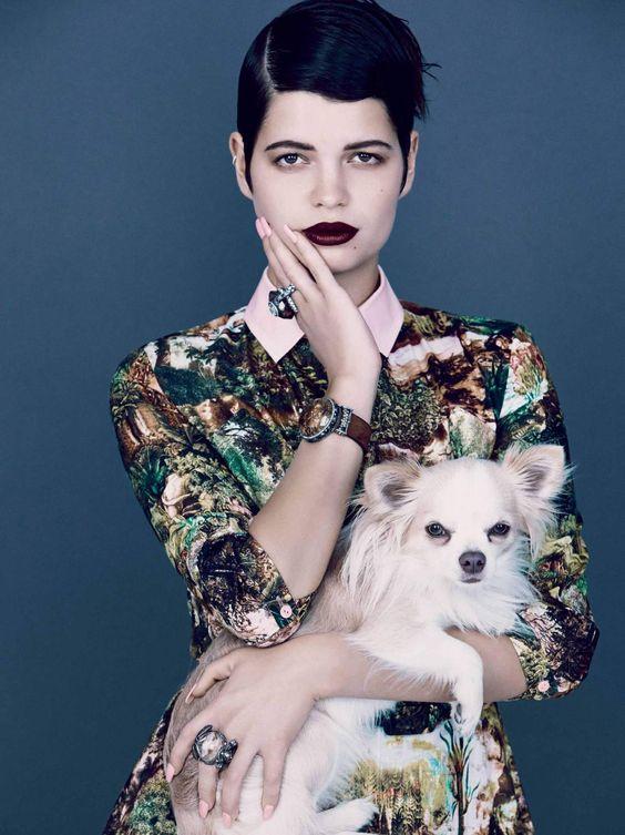 Vogue US December 2013: